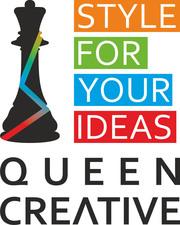 Квин Креатив - веб,  брендинг,  фирменный стиль,  дизайн,  3D